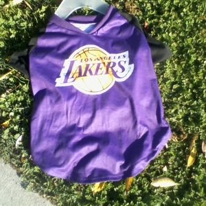 LA LAKERS JERSEY FOR PETS OR TEDDY